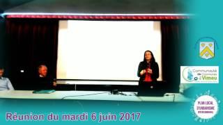 Réunion publique d'information sur le PLUI - 6 juin 2017