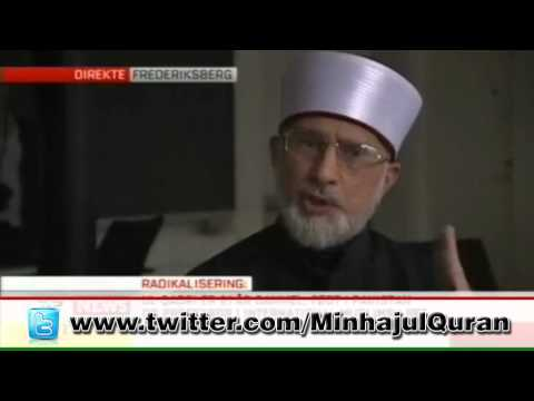 Dr Tahir-ul-Qadri defends Judiciary of Pakistan in Denmark