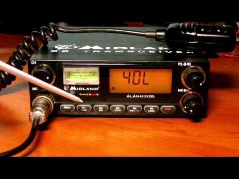 Обзор радиостанции Midland Alan 48 Excel