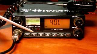 Огляд радіостанції Midland Alan 48 Excel