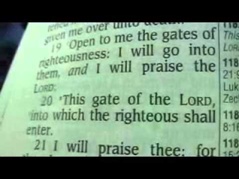 Psalm 118 Holy Bible (King James)