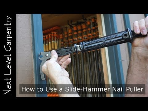 How to Use a Slide Hammer Nail Puller