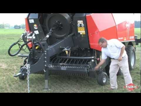 Kuhn LSB 1290 Large Square Baler Review With Rob Barger