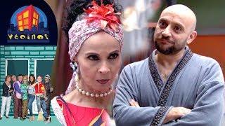 Magdalena se convierte en Lady Tanque de Gas | Vecinos - Distrito Comedia