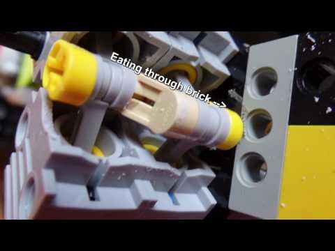 LEGO V12 GREAT Engine sound! 10,000 RPM!