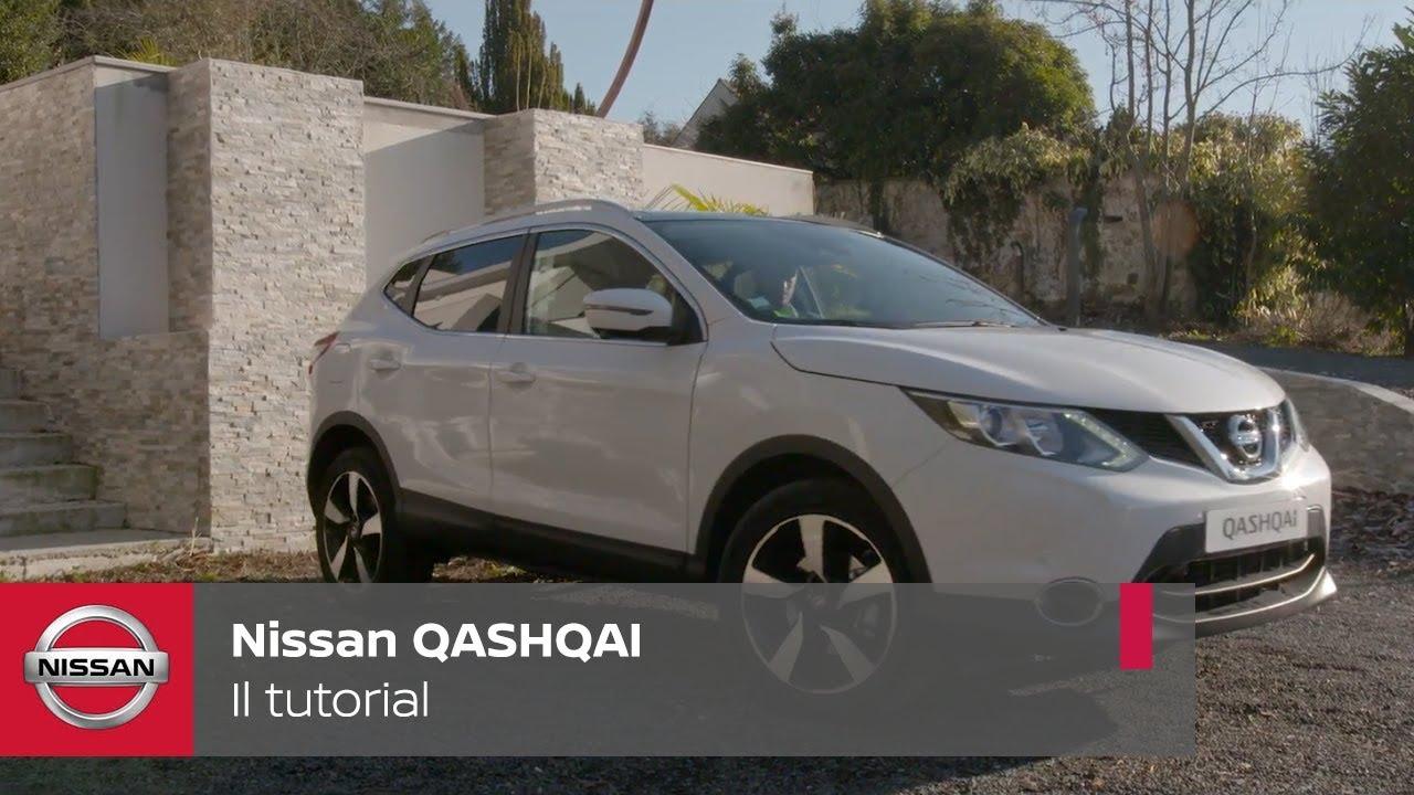 Nissan qashqai tutorial sulle impostazioni del quadro strumenti