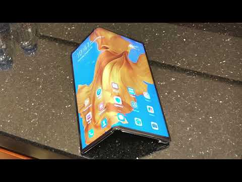 Hands on with Huawei's foldable phone, the Mate X