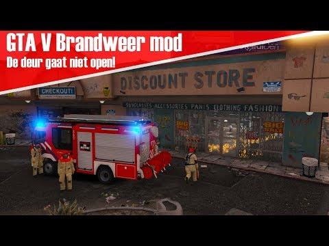 GTA 5 Brandweer mod - De deur gaat niet open!