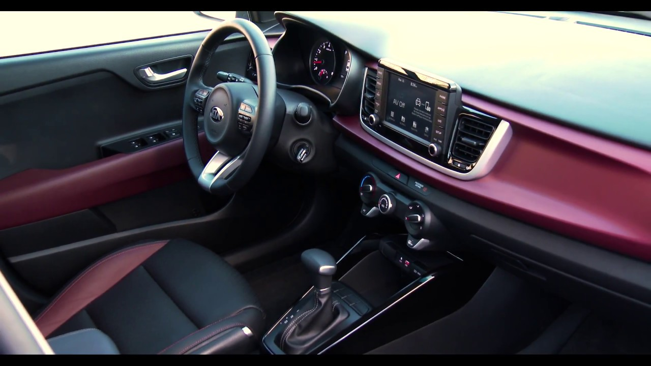 Kia Rio 2018 - Details Interieur - YouTube