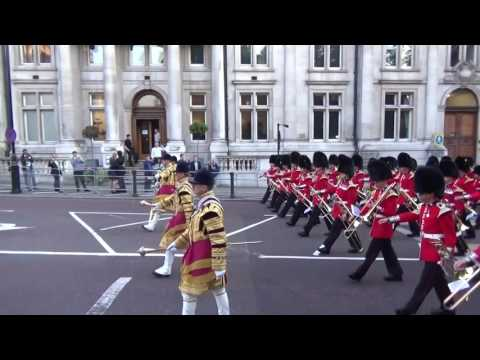 The Massed Bands of the Guards Division, Beating Retreat 2015