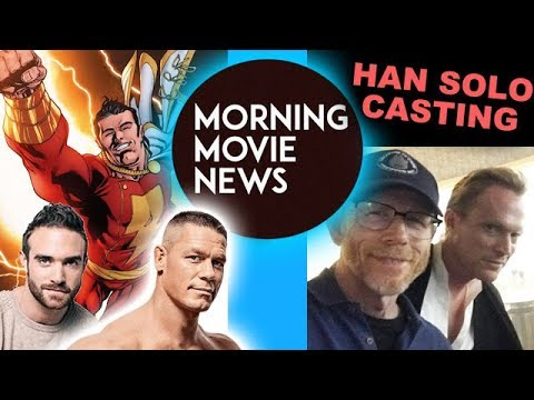 John Cena vs Joshua Sasse for Shazam Movie? Paul Bettany cast in Han Solo 2018