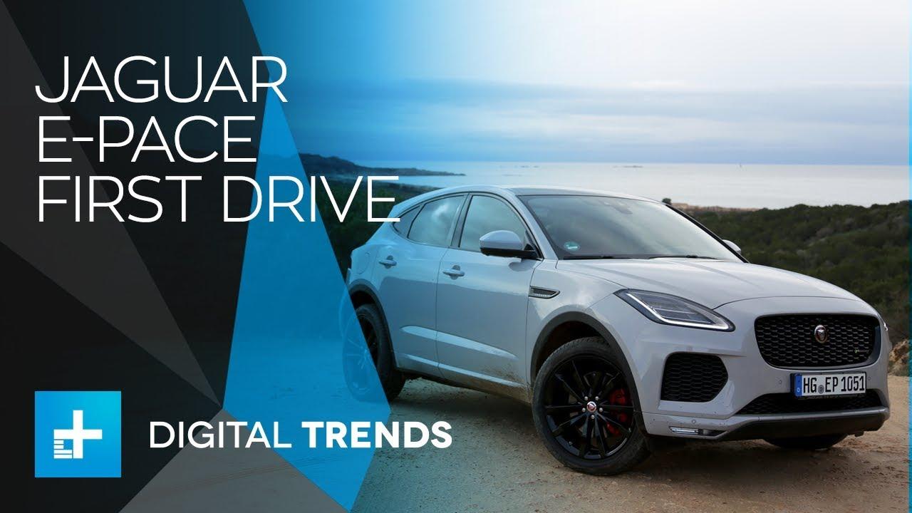 2018 Jaguar E Pace – First Drive