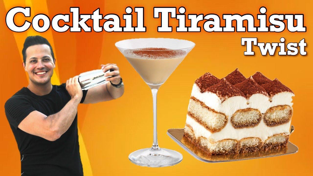 COCKTAIL TIRAMISU / TWIST / BARTENDER