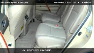 2008 Toyota Highlander  - for sale in Mobile, AL 36606