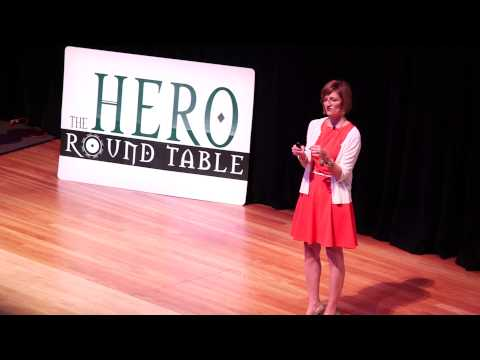 Renee Thompson at the Hero Round Table 2014