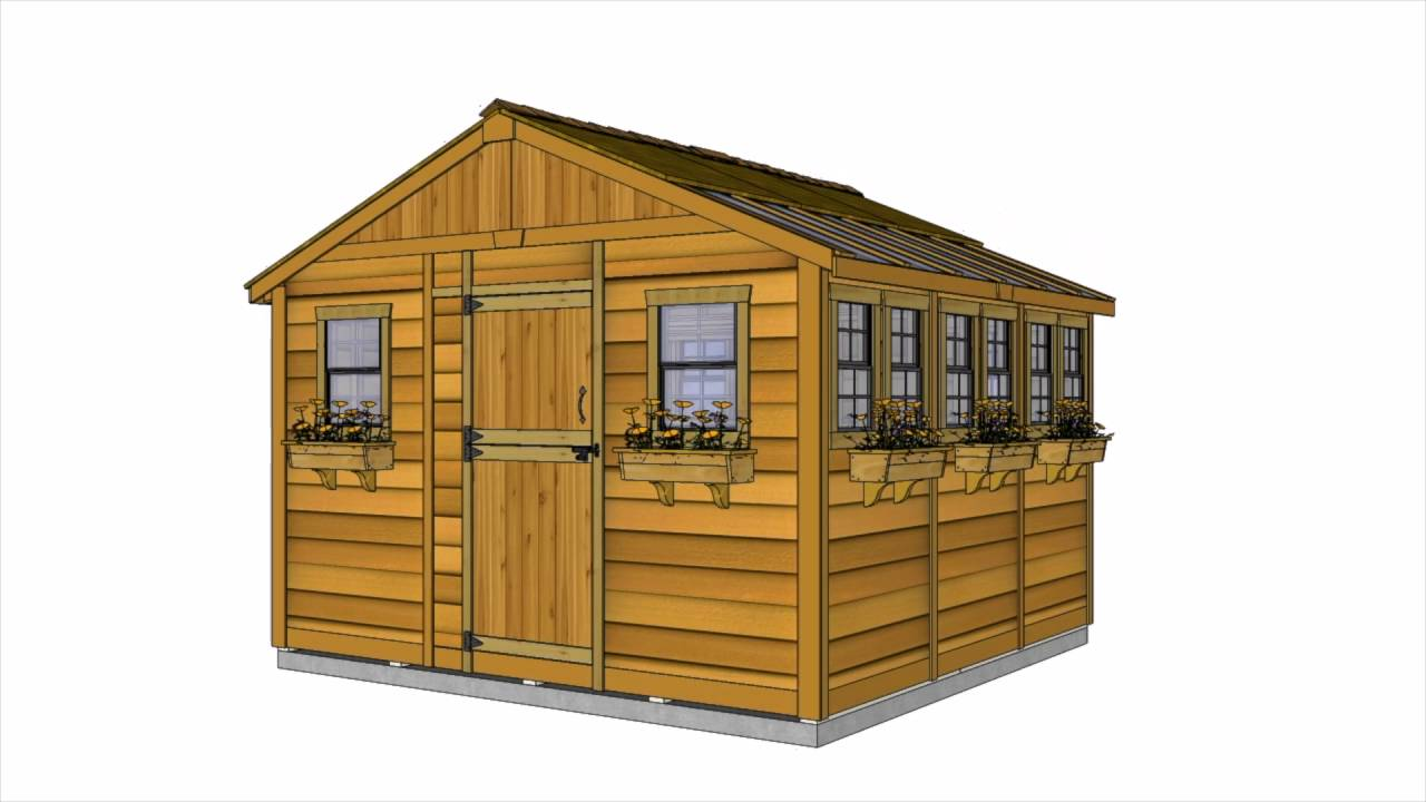 Shed Kit - 12x12 Sunshed Garden | Outdoor Living Today ... on Outdoor Living Today Sunshed id=60456