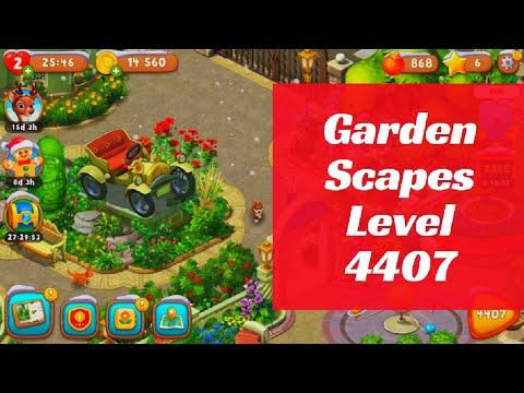 Gardenscapes Level 4407