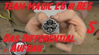 Team Magic E6 III BES: Wiederaufbau + Differential reinigen und befüllen Teil 5 - Full HD - German