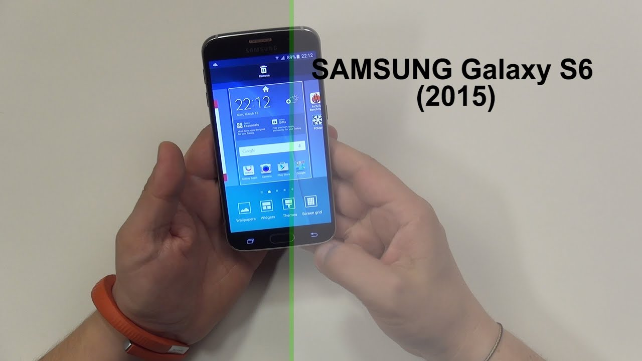 Samsung Galaxy S6 unboxing & review (www.buhnici.ro)