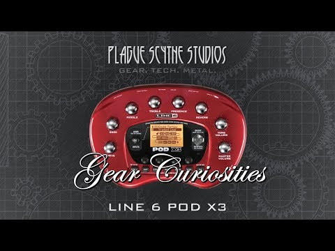 Gear Curiosities: Line 6 POD X3 - The Bean Gets Serious!