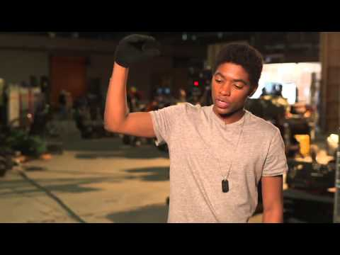 The 5th Wave Behind the s Movie   Nadji Jeter is 'Poundcake' 2016 HD