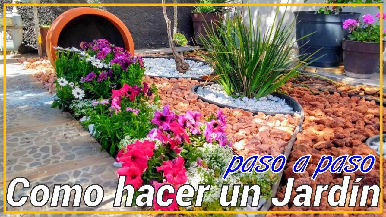 Como Hacer Un Jardin Moderno Modern Small Garden Youtube