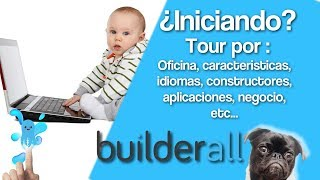 Builderall español - Tour por oficina, constructores, aplicaciones, donde esta toso