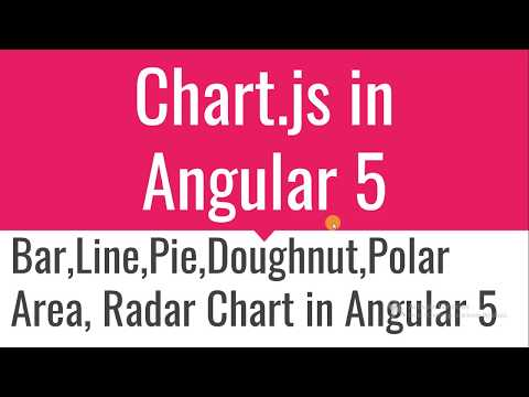 How to use chart js in angular 5 - YouTube