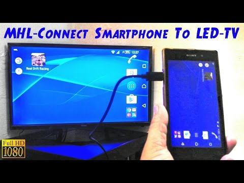 MHL How To Connect Smartphone To TV LED TV HDTV