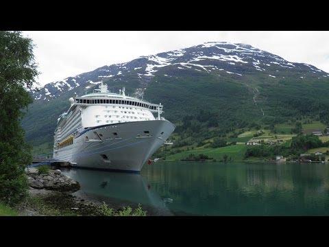 Adventure Of The Seas Ab Southampton Island Norwegische Fjorde Royal Caribbean RCCL Cruise