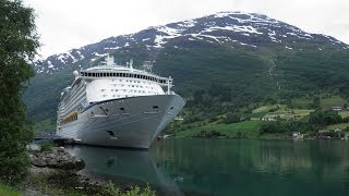 Adventure of the seas ab Southampton Island Norwegische Fjorde Royal Caribbean RCCL Cruise