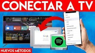 CONECTAR TELÉFONO CELULAR a TELEVISOR ¡ANTIGUO o NUEVO! SIN CABLES y POR WIFI (Android & iOS 2020)