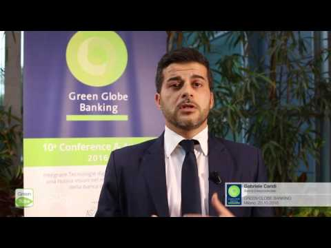 Intervista a Gabriele Caridi | X Edizione Green Globe Banking Conference & Award
