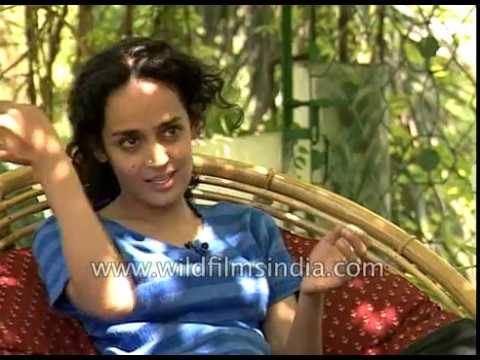 Arundhati Roy at home and work: activist, writer and filmmak