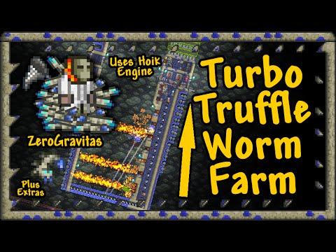Turbo Truffle Worm Farm - Terraria 1.2.4.1 (and 1.3)