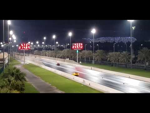 Abu Dhabi Yas dragracing & Dubai autodrome roll racing