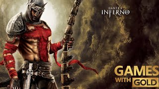 Dante's Inferno Xbox One X Gameplay Games With Gold