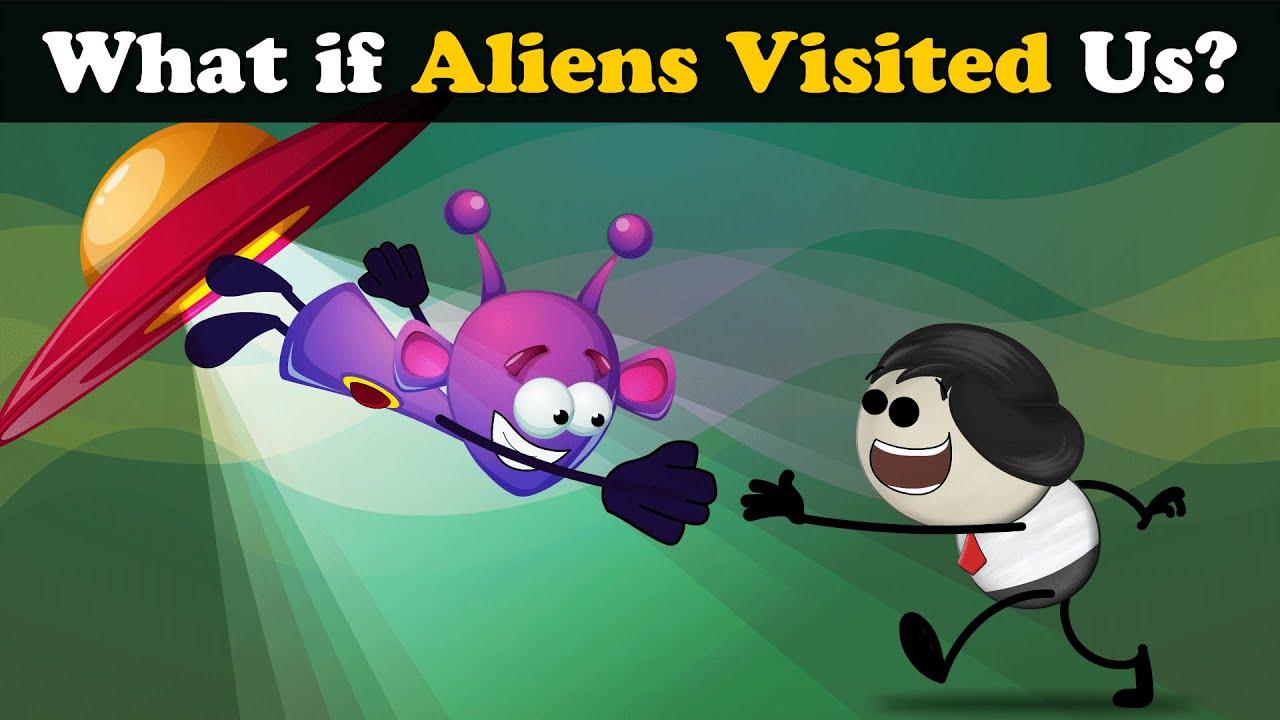 What if Aliens Visited Us? + more videos | #aumsum #kids #science #education #children
