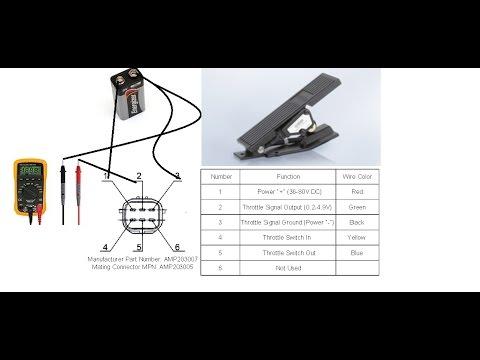 Accelerator Pedal Position Sensor Testing  YouTube