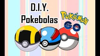 DIY Pokebola | Pokemon Go