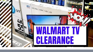 Walmart TV Clearance Is Here! TVs under $200! Secret Hidden Clearance