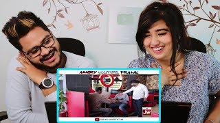 Indian Reaction On Angry Waiter Prank ¦ By Nadir Ali In ¦ P4 Pakao ¦ 2019
