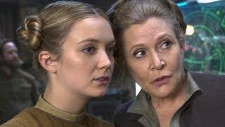 """Дочь Кэрри Фишер сыграла секретную роль в """"Скайуокере. Восход"""""""