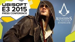 assassin s creed syndicate gameplay walkthrough e3 2015 ubisoft press conference
