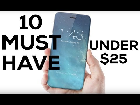 timeless design 8b3a2 2da3c TOP 10 BEST IPHONE ACCESSORIES Under $25! MUST HAVE! 2019 REVIEW (4K)