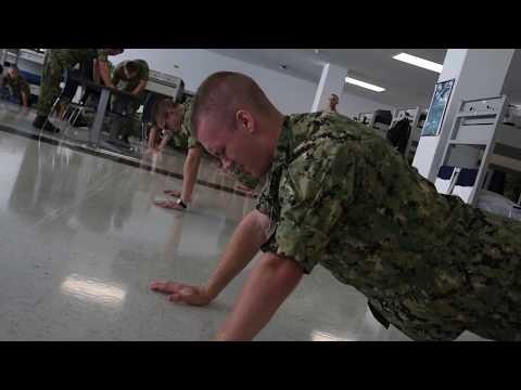 Navy Recruit Bunk and Locker Drills