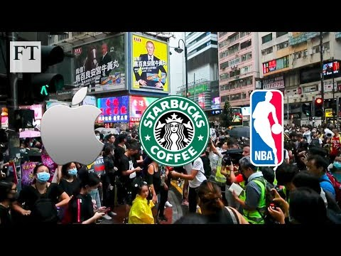 How Apple, Starbucks and the NBA are caught in Hong Kong's crossfire | FT