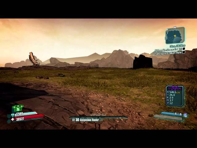 Borderlands 2 Terramorphous 9 seconds solo kill