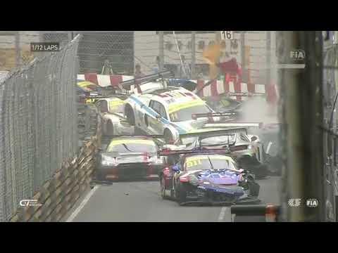 FIA GT: ACCIDENTE MÚLTIPLE EN MACAO