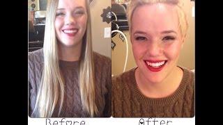 Miley Cyrus/Pink Haircut || Long Hair to Short Pixie Haircut || Drastic Mp3